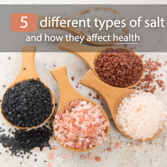 5 Different Types of Salt and How They Affect Health